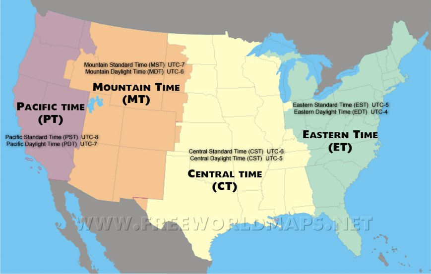 us-time-zones